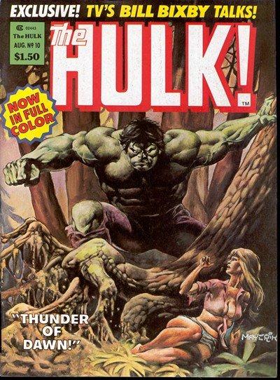 Hulk Magazine #10 – 27 (1978-1981)