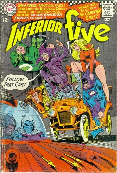 Inferior Five #1 – 12 (1967-1972)