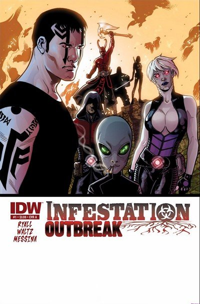 Infestation – Outbreak #1 – 4 (2011)