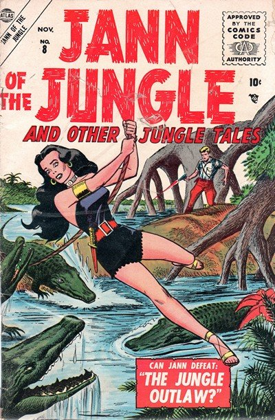 Jann of the Jungle #8 – 17 (1953-1955)