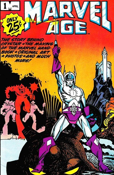 Marvel Age Vol. 1 #1 – 140 + Annuals + Preview + Specials