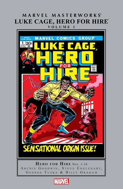Marvel Masterworks – Luke Cage, Hero for Hire Vol. 1 (2015)