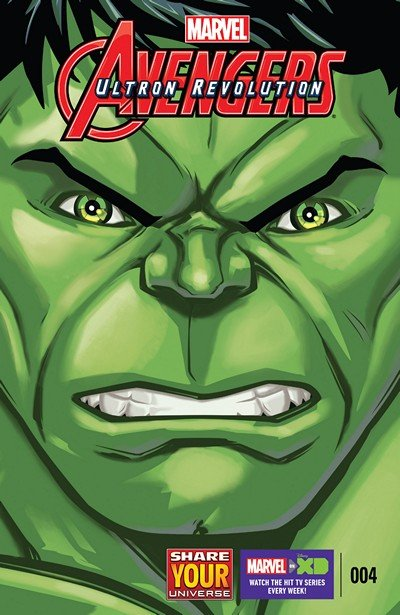 Marvel Universe Avengers – Ultron Revolution #4 (2016)