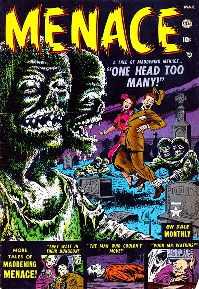 Menace #1 – 11 (1953-1954)