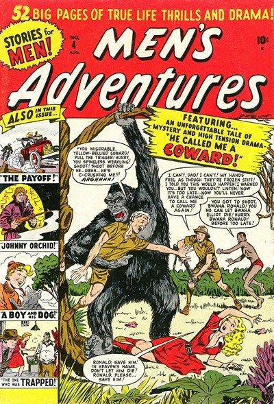Men's Adventures #4 – 28 (1950-1954)
