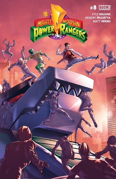 Mighty Morphin' Power Rangers #8 (2016)
