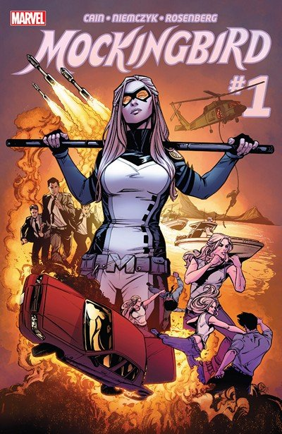 Mockingbird #1 – 8 + TPBs (2016)