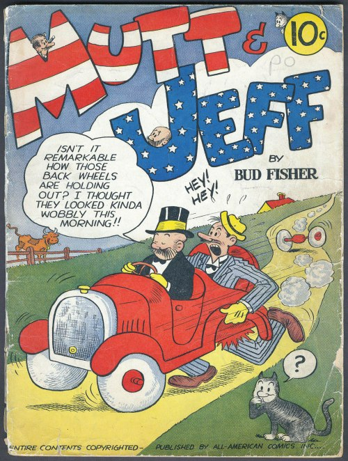 Mutt and Jeff #1 – 108 (1939-2016)