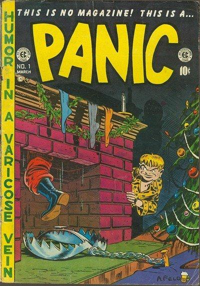 Panic #1 – 12 (1954-1955)