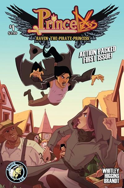 Princeless – Raven the Pirate Princess #1 – 10 (2015-2016)