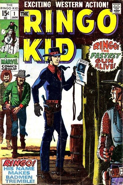 Ringo Kid #1 – 30 (1970-1976)