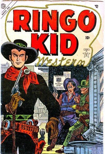 Ringo Kid Western #1 – 21 (1954-1957)