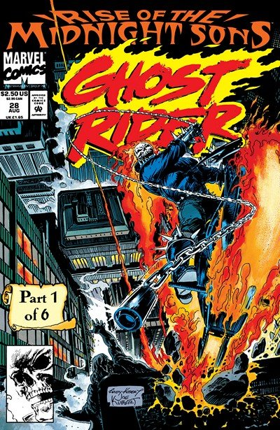 Rise of the Midnight Sons #1 – 6 (1992)