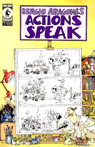 Sergio Aragones's Actions Speak #1 – 6 (2001)