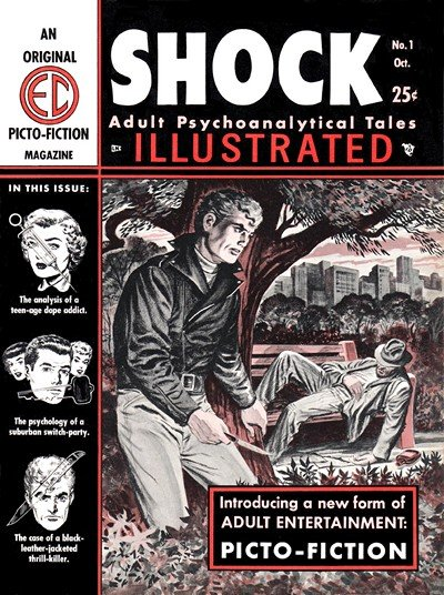 Shock Illustrated #1 – 2 (1955-1956)