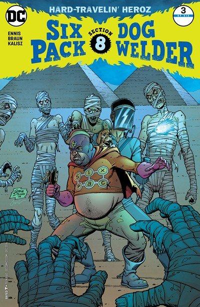 Sixpack and Dogwelder – Hard Travelin' Heroz #3 (2016)