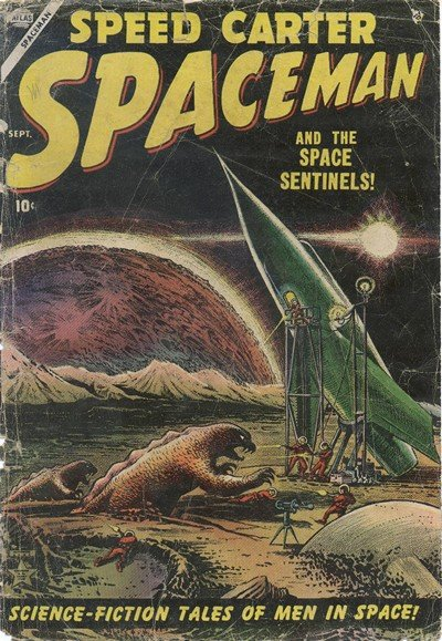 Spaceman #1 – 6 (1953-1954)