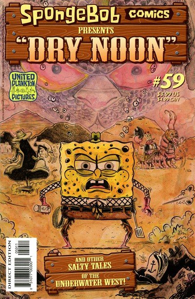 SpongeBob Comics #59 (2016)