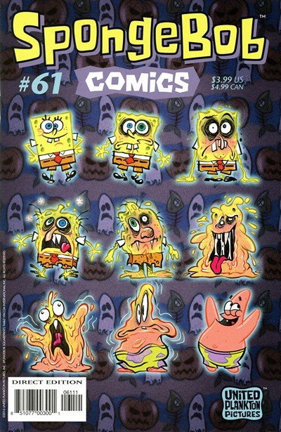 SpongeBob Comics #61 (2016)
