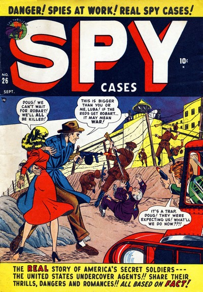 Spy Cases #1 – 19 (1950-1953)