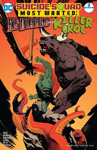 Suicide Squad Most Wanted – El Diablo and Killer Croc #3 (2016)