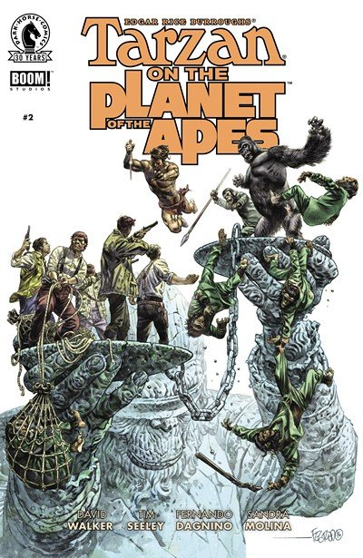 Tarzan on the Planet of the Apes #2 (2016)
