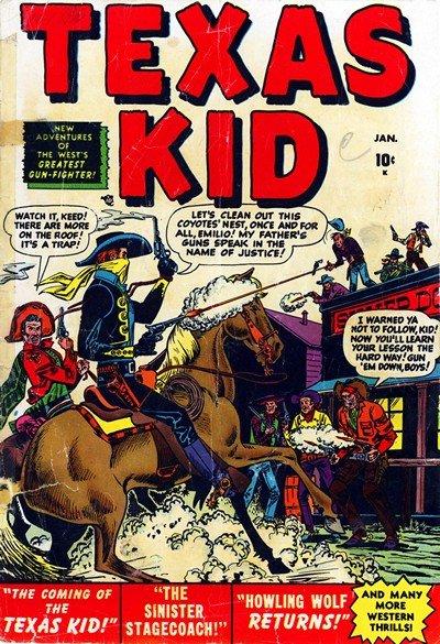 Texas Kid Vol. 1 #1 – 10 (1951-1952)