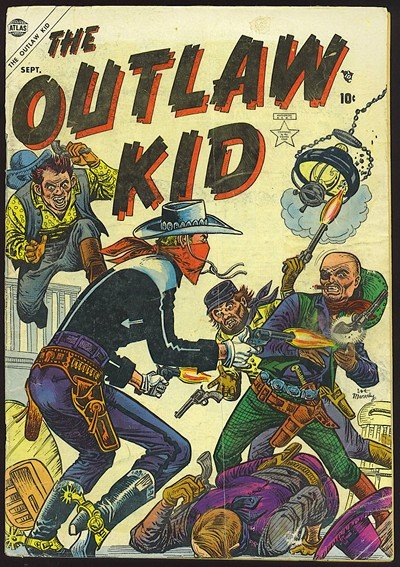 The Outlaw Kid Vol. 1 #1 – 19 (1954-1957)