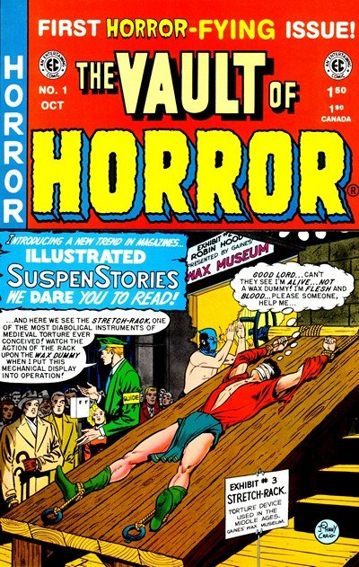 The Vault of Horror #12 – 40 (1950-1954)