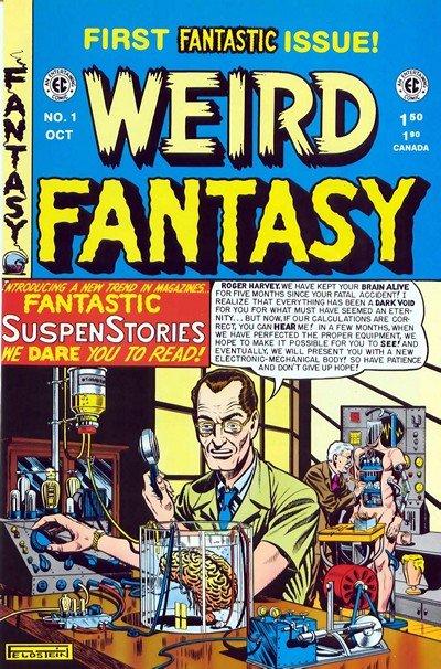 Weird Fantasy #1 – 22 (1950-1953)