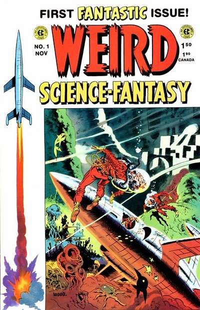 Weird Science-Fantasy #23 – 29 (1954-1955)