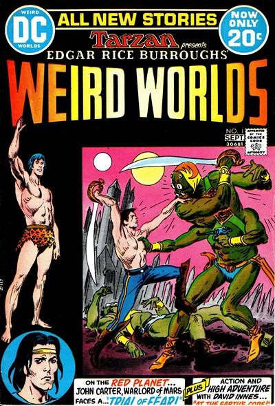 Weird Worlds #1 – 10 (1972-1974)