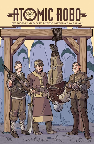 Atomic Robo and the Temple of Od #4 (2016)