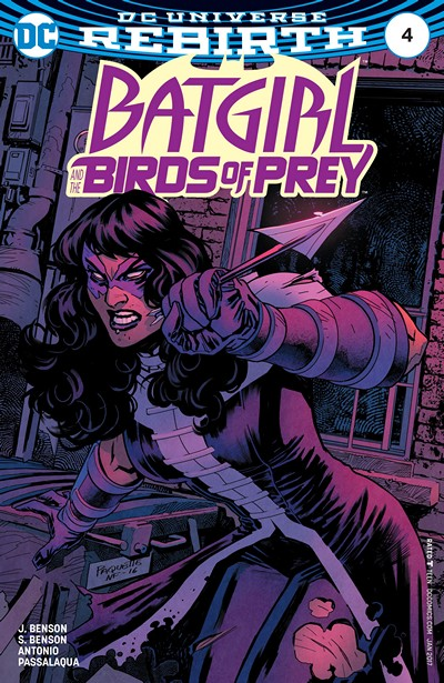 Batgirl and the Birds of Prey #4 (2016)