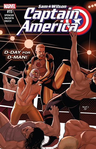 Captain America – Sam Wilson #15 (2016)