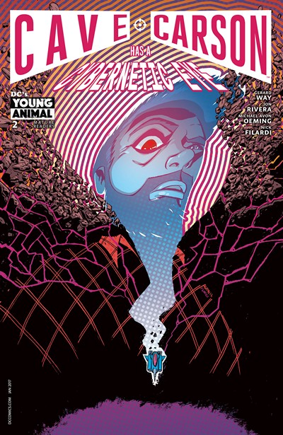 Cave Carson Has a Cybernetic Eye #2 (2016)