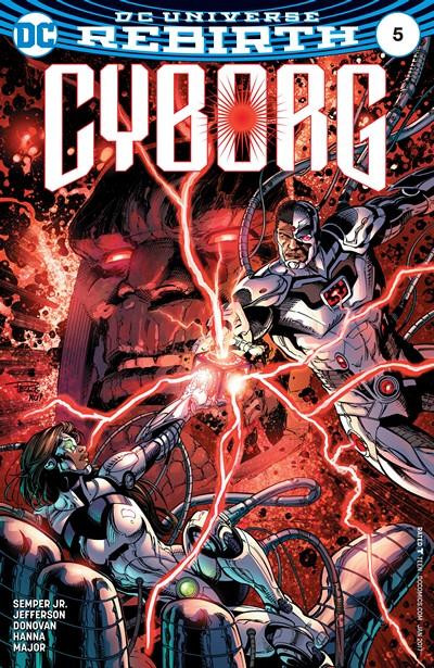 Cyborg #5 (2016)