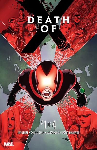 Death of X #1 – 4 (2016)