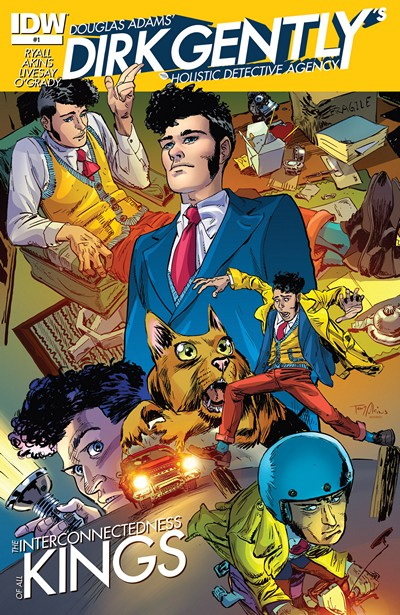 Dirk Gently's Holistic Detective Agency #1 – 5 (2015)