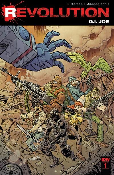 G.I. Joe – Revolution #1 (2016)