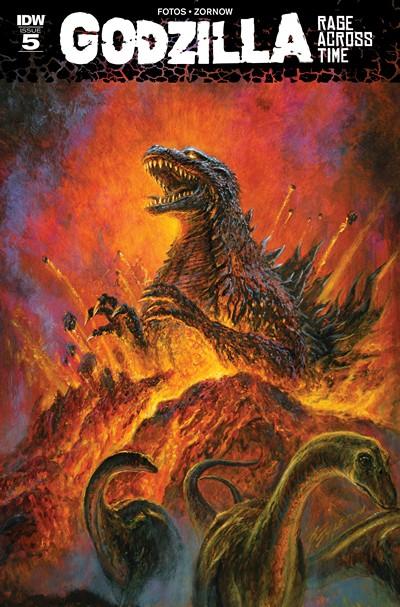 Godzilla – Rage Across Time #5 (2016)