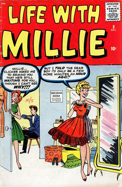 Life With Millie #8 – 20 (1960-1962)