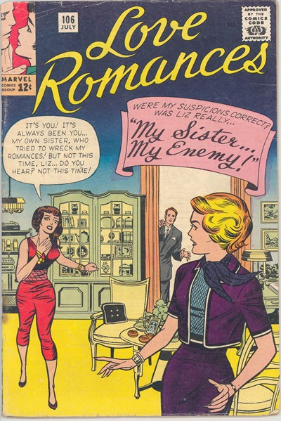 Love Romances (54 Issues) (Marvel) (1949-1963)