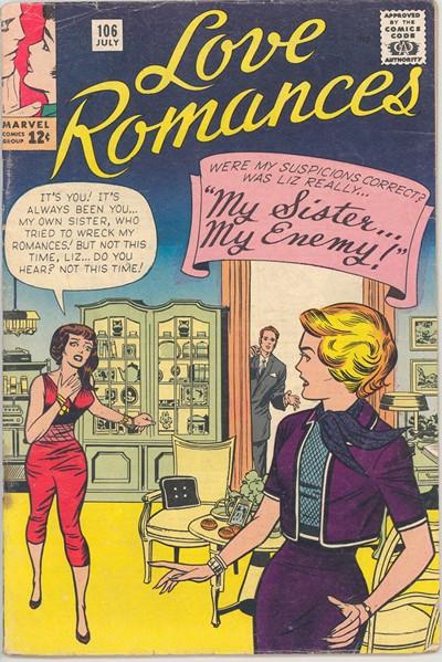 Love Romances (54 Issues) (Marvel) (1949-1963)