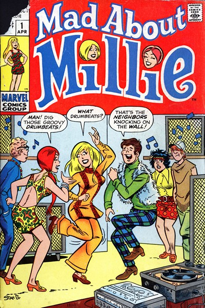 Mad About Millie #1 – 17 (1970)