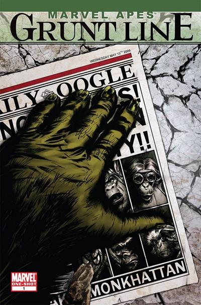 Marvel Apes – Grunt Line Special (2009)