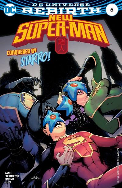 New Super-Man #5 (2017)