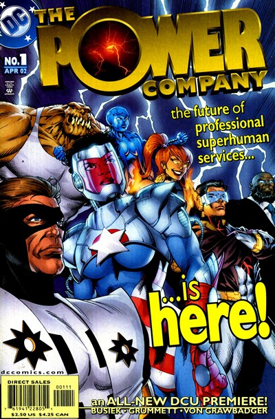 Power Company #1 – 18 + Extras (2002-2003)