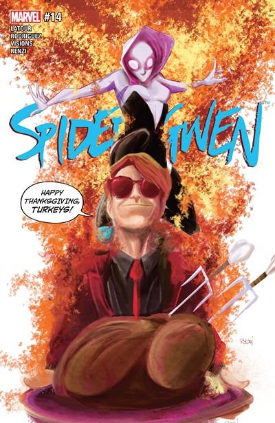 Spider-Gwen Vol. 2 #14 (2016)