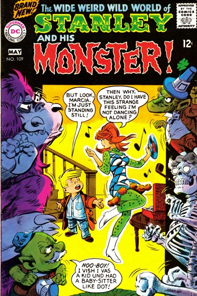 Stanley and His Monster Vol. 1 #109 – 112 (1968)